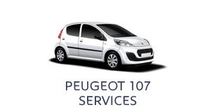 Peugeot 107 Services