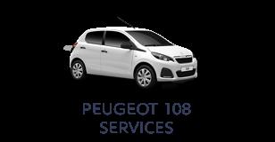 Peugeot 108 Services