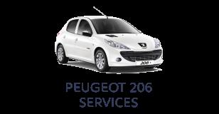 Peugeot 206 Services
