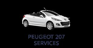 Peugeot 207 Services