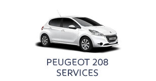 Peugeot 208 Services