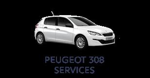 Peugeot 308 Services