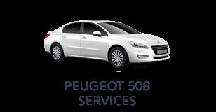 Peugeot 508 Services