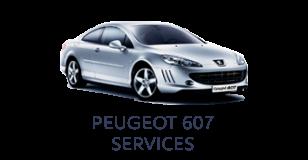 Peugeot 607 Services