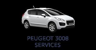 Peugeot 3008 Services
