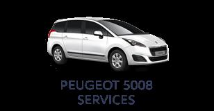 Peugeot 5008 Services