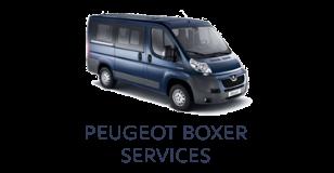 Peugeot Boxer Services