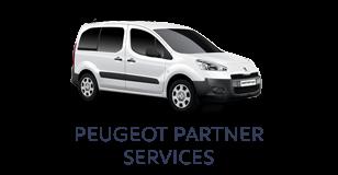 Peugeot Partner Services