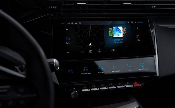 New NEW PEUGEOT 308 SW - connectivity and PEUGEOT i-Connect infotainment