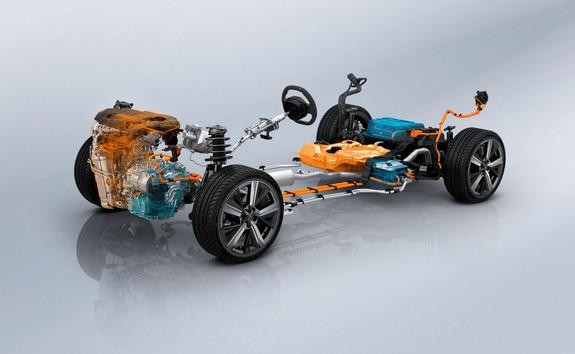New PEUGEOT 308 SW Hybrid battery