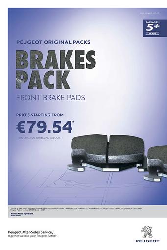 5+ Years - Brake Pads