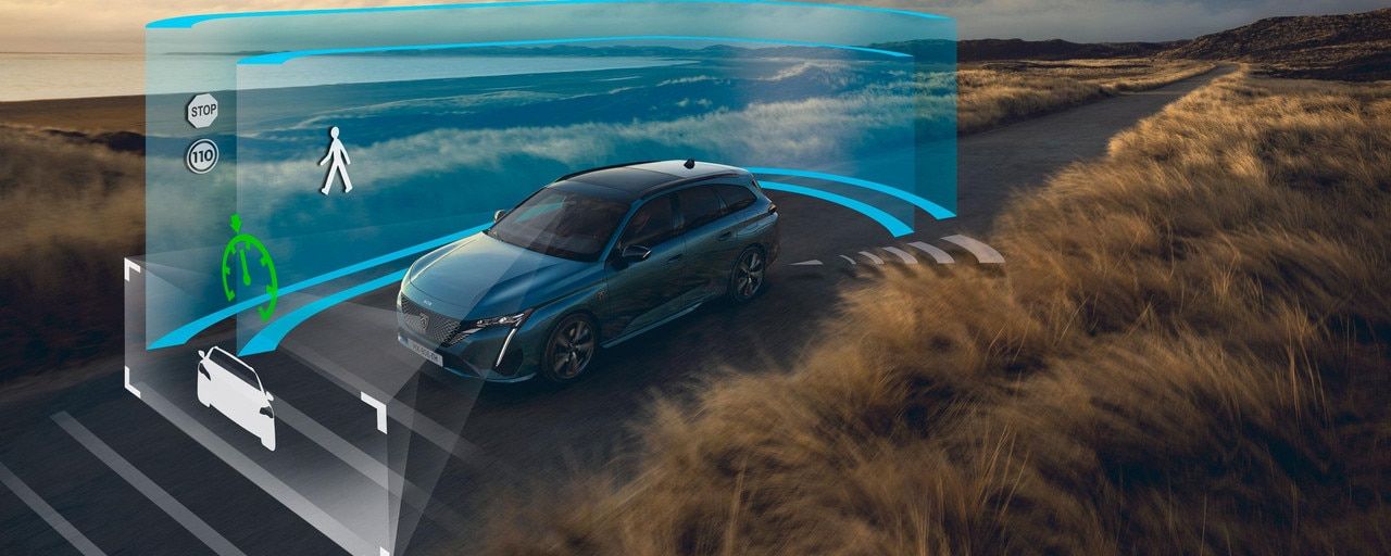 New PEUGEOT 308 SW driver assistance systems