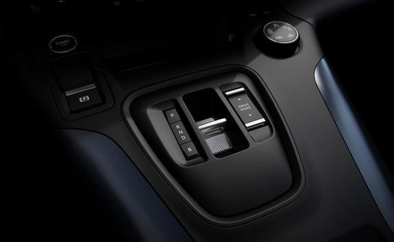 NEW PEUGEOT e-RIFTER - electric automatic transmission controls