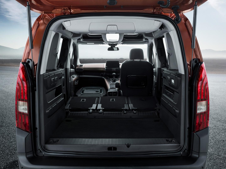 Peugeot Rifter Folded Seats