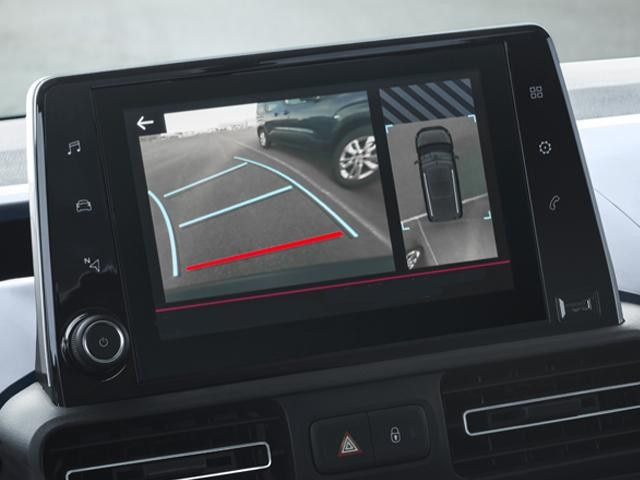 Peugeot Rifter Reversing Camera