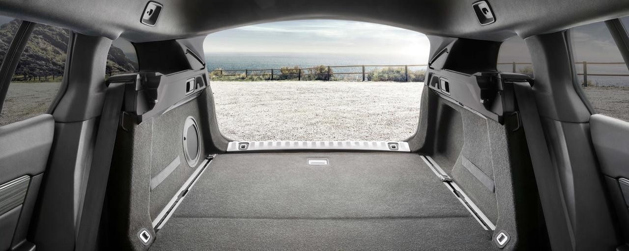 All-new Peugeot 508 SW Boot Space