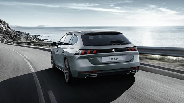 Peugeot 508 SW - The premium estate for business customers: rear view