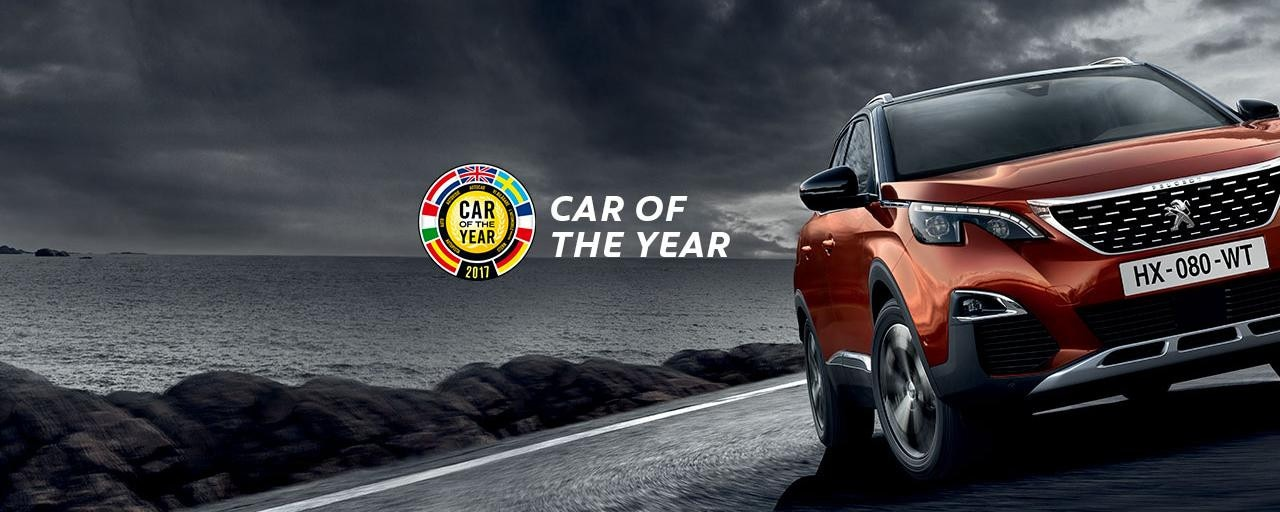 Peugeot 3008 - Car Of The Year 2017
