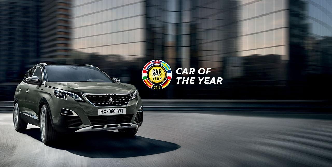 Peugeot 3008 GT - Car Of The Year 2017
