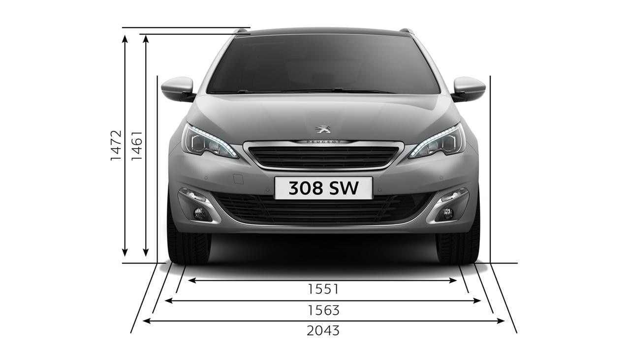 peugeot 308 sw technical information peugeot malta. Black Bedroom Furniture Sets. Home Design Ideas
