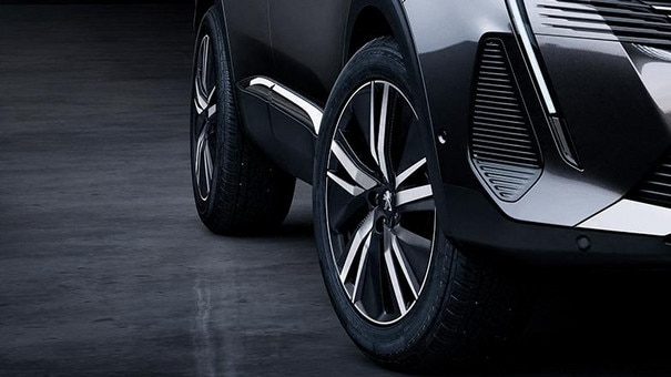 "New PEUGEOT 3008 SUV - 19"" San Francisco wheel rims"