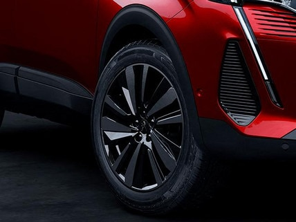 "New PEUGEOT 3008 SUV – 19"" ""Washington"" aluminium wheel rim"