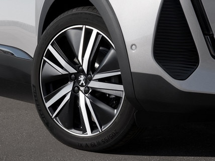 "New PEUGEOT 3008 SUV HYBRID – 19"" wheel rim"