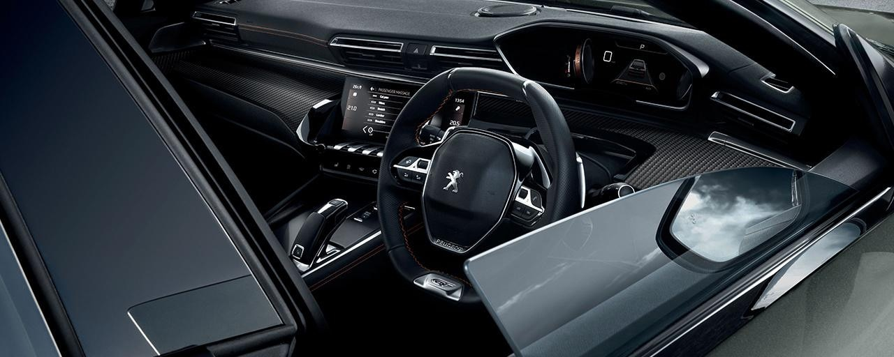 New 508 Fastback - Interior Design