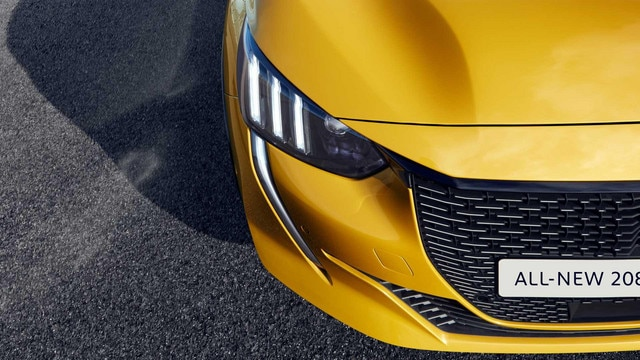 All-new 208 GT-Line up front