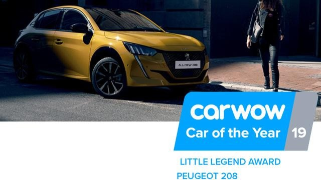 PEUGEOT All-new 208: Little legend award - CARWOW awards