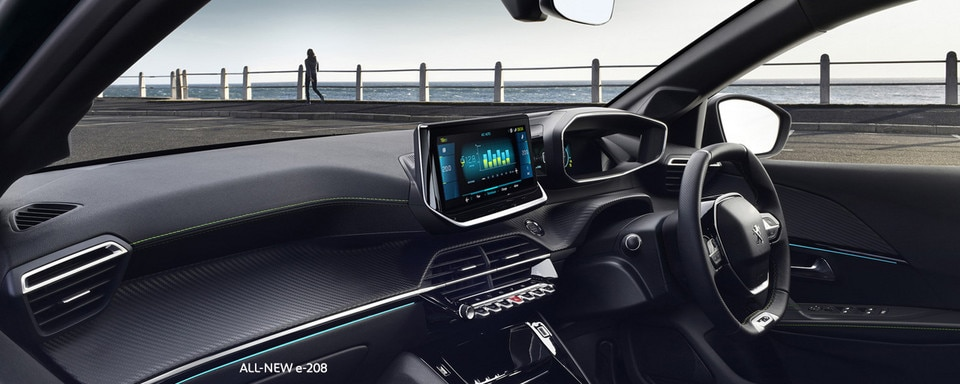 ALL-NEW PEUGEOT e-208 - Interior