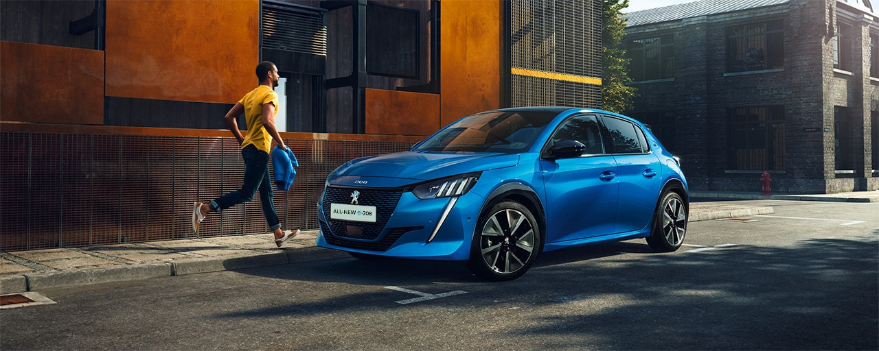 ALL-NEW PEUGEOT e-208 – expressive front face
