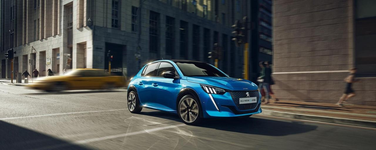 ALL-NEW PEUGEOT e-208 – Distinctive and seductive design