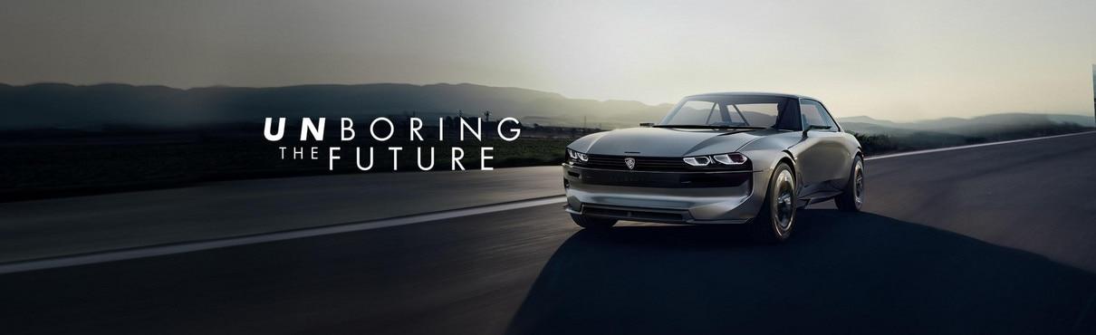 PEUGEOT e-LEGEND CONCEPT: 100% electric autonomous conencted car by PEUGEOT #UnboringTheFuture