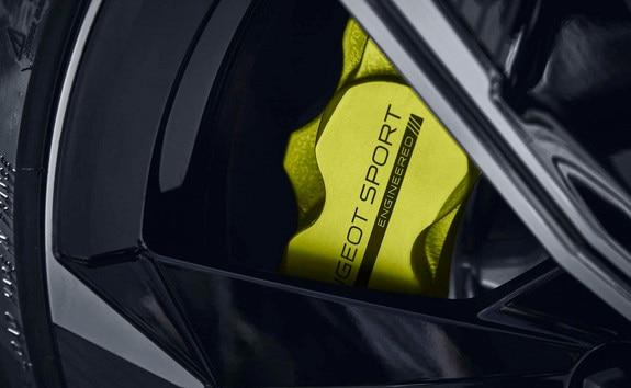 New PEUGEOT SPORT ENGINEERED 508: Kryptonite branded brake callipers