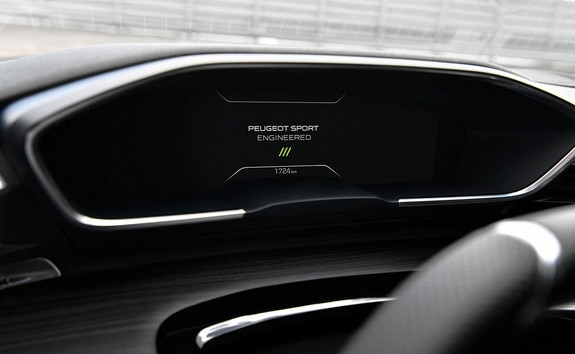 New PEUGEOT SPORT ENGINEERED 508: New 12.3 inch head-up instrument panel