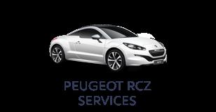 Peugeot RCZ Services