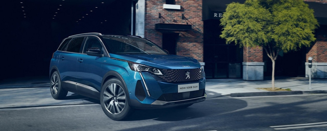 New large Peugeot 5008 SUV with 7 seats