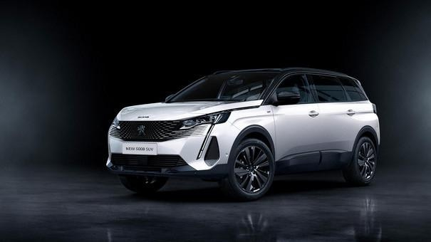 "New PEUGEOT 5008 SUV: ""Black Pack"" option"