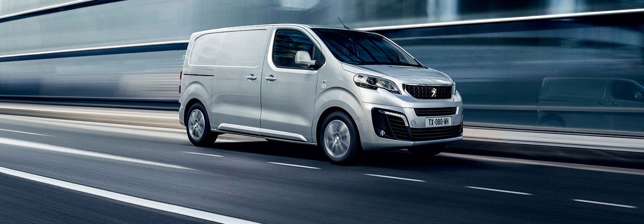 Peugeot Expert Van Poster